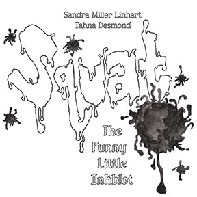 Squat the funny little inkblot book cover